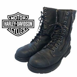 Harley Davidson combat style boots